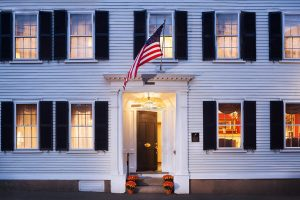 Our Marblehead Hotel front entrance