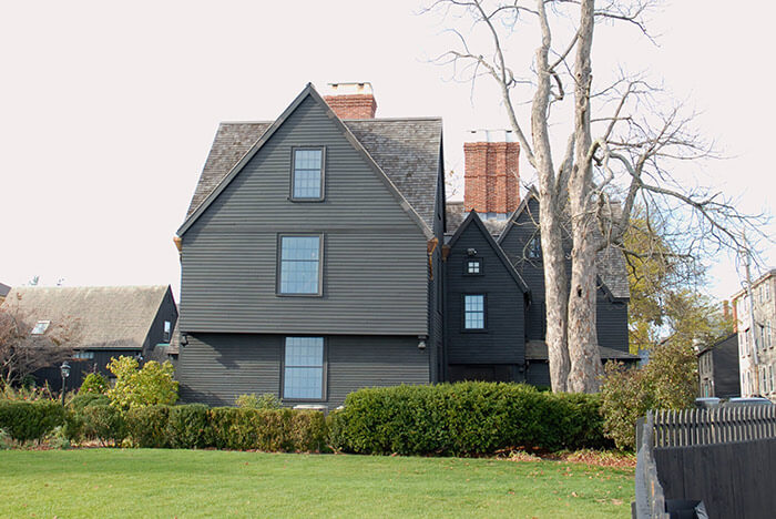 House of Seven Gables in MA