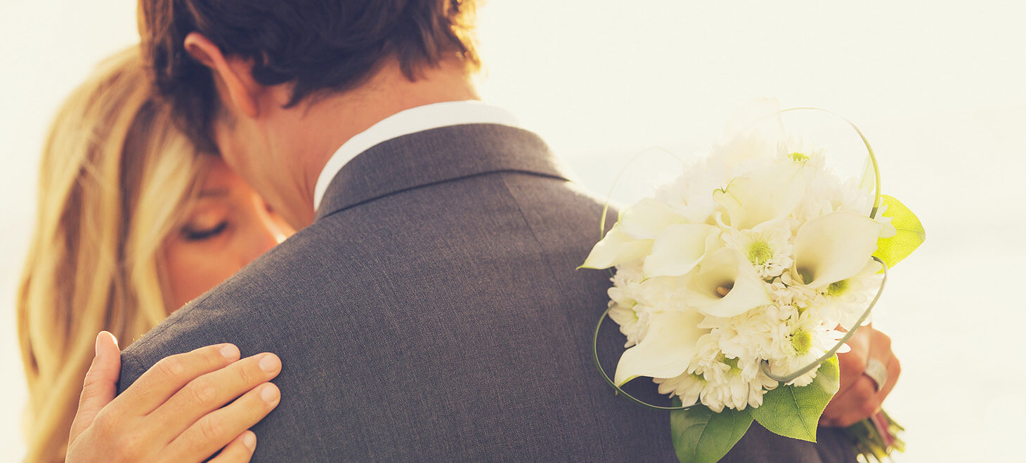 Intimate wedding at our Marblehead wedding venue