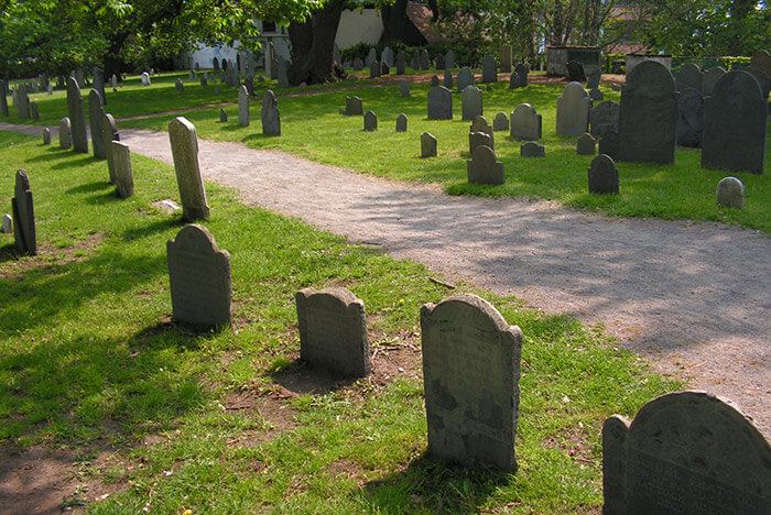 Top things to do in Salem, MA - Graveyard