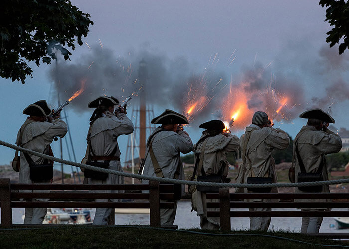 Massachusetts Historical Sites - Glover's Regiment